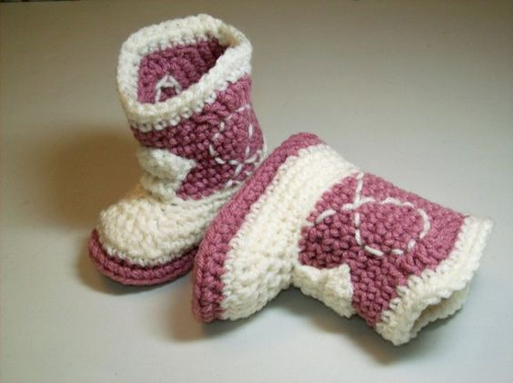 Cowgirl baby booties!!!