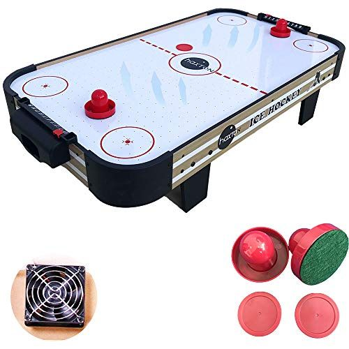 40 Inch Air Hockey Table Game Style Air Hockey Table Is Made With A Big Table Top And Includes 2 Pucks And 2 Pushers For Hou In 2020 Air Hockey Table Air Hockey Pucks
