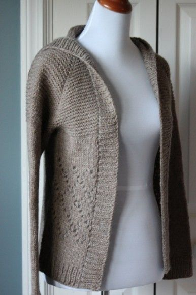 Common Knitting Stitches : The Brown Stitch Easy Knitting Patterns Common Ground knit sweaters P...