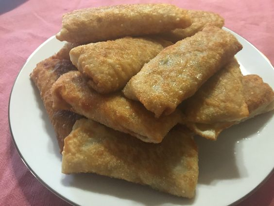 Chicken Vegetable Egg Roll