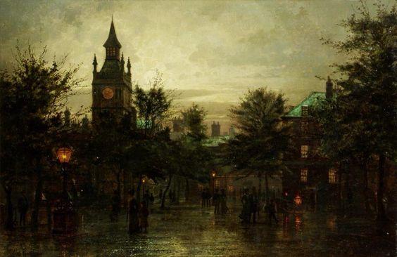Louis.H.Grimshaw (1870-1944) - Paintings I love