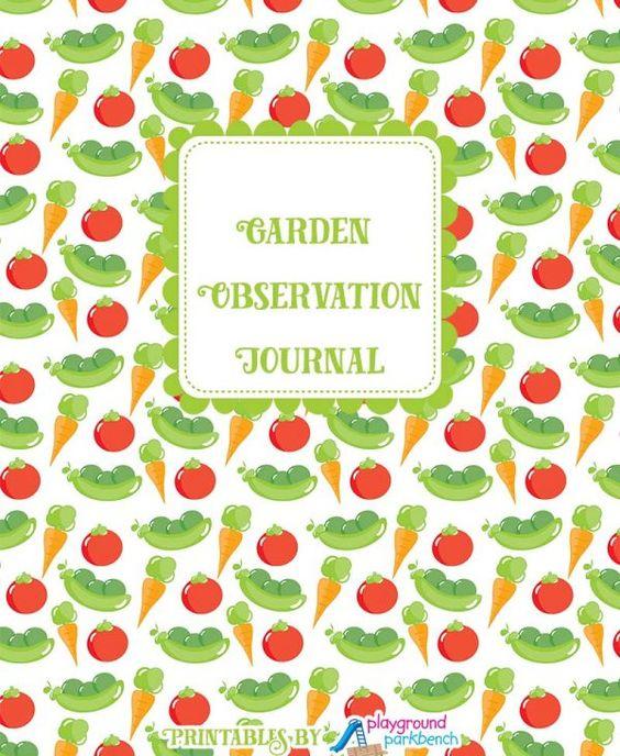 Garden Observation Journal Cover