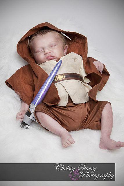 Little jedi baby  Oliver Witt, via Flickr.