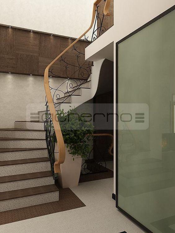 Вътрешен дизайн на стълбище