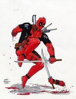 Deadpool Sm by davidnewbold