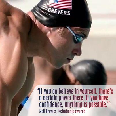 Congrats to Matt Grevers of Team USA and Team Chobani for taking home the gold in Men's 100M Backstroke!