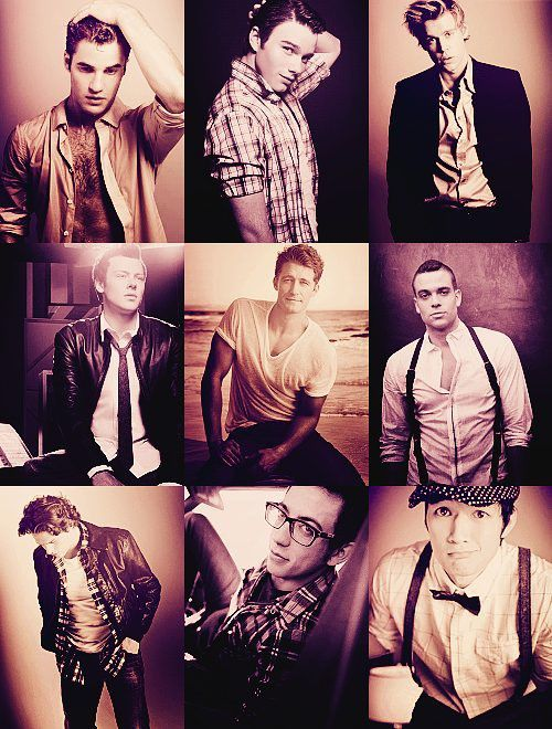 men of glee <3