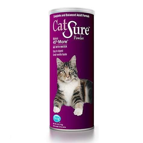 Petag Catsure Powder Meal Replacement For Cats Petco Meal Replacement Cats Nutrition Recipes