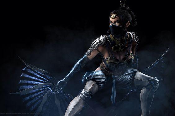 kitana in Mortal Kombat X