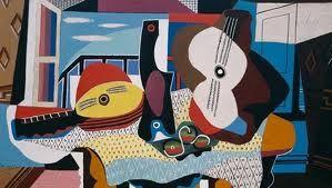 Do Art!: Picasso Guitar Collage