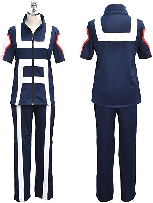 My Hero Academia Boku no Hero Academia Kohei Horikoshi gym Cosplay Costume New