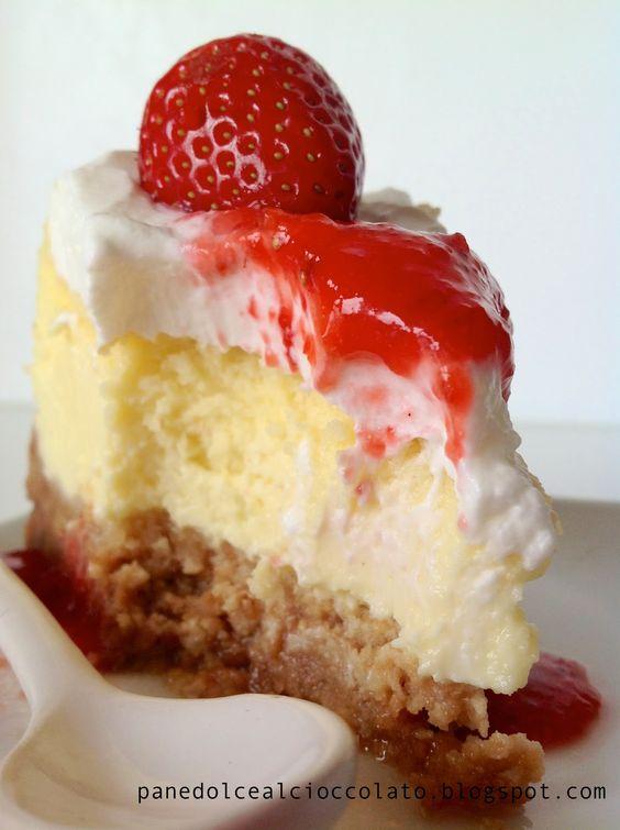 PANEDOLCEALCIOCCOLATO: new york cheesecake