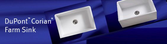 Dupont corian now has a farm sink ask for model 690 for Corian farm sink price