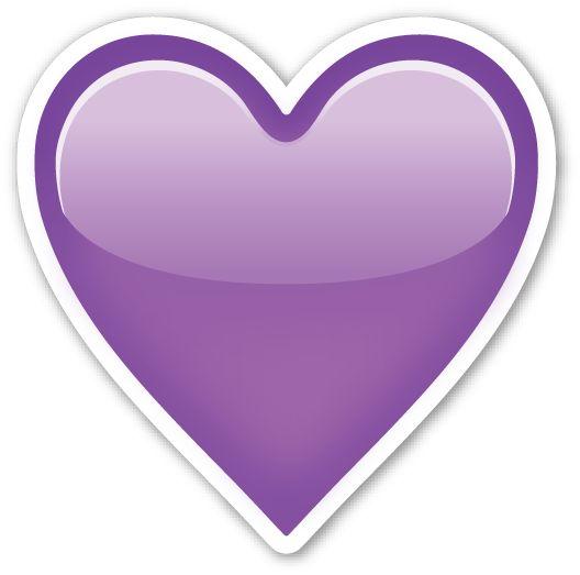 Purple Heart   Purple hearts, Heart emoji and The emoji