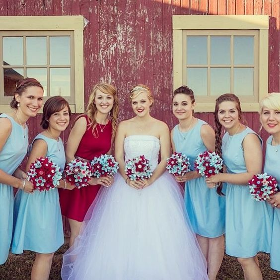 | Custom Bridesmaid Dresses by Classic Cora |