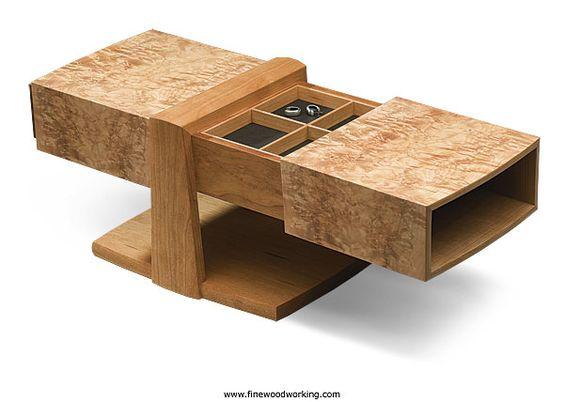 Burl Jewelry Box - Reader's Gallery - Fine Woodworking