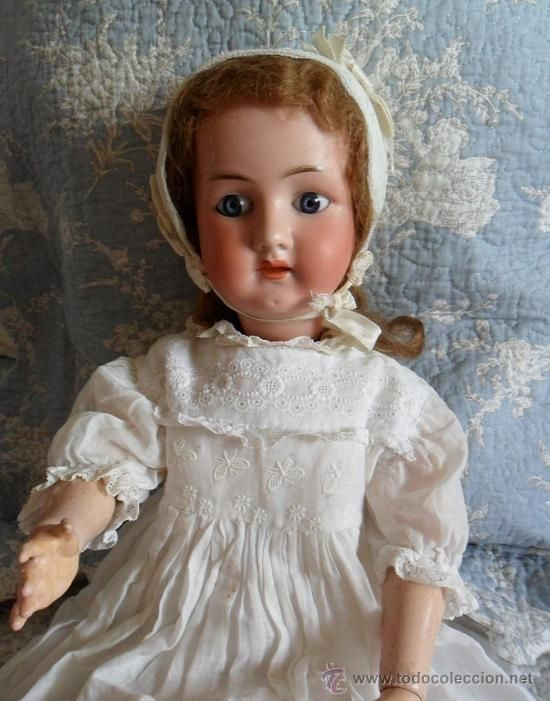 Preciosa muñeca Heubach Koppelsdorf molde 250 de 60 cm (Juguetes - Muñeca Extranjera Antigua - Porcelana Alemana)
