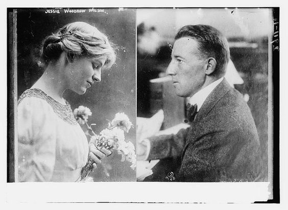 Jessie Woodrow Wilson [and Francis B. Sayre]  (LOC) by The Library of Congress, via Flickr: