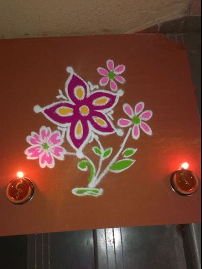 Easy and Simple Rangoli Designs for Kids | Swarna vasi..My ...