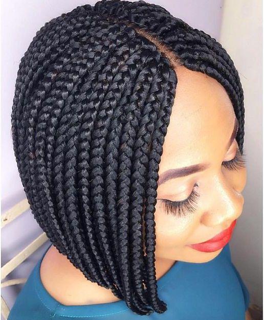 Pixie Bob Braids For Black Women Latest Braided Hairstyles