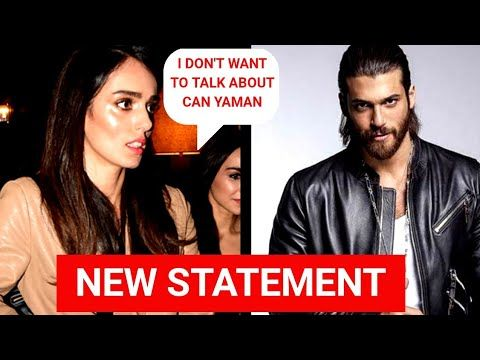 Can Yaman Ex Lover Bestemsu özdemir Statement About Can Yaman That I Can Say Alot But I Don T Want Youtube Sayings Statement Canning