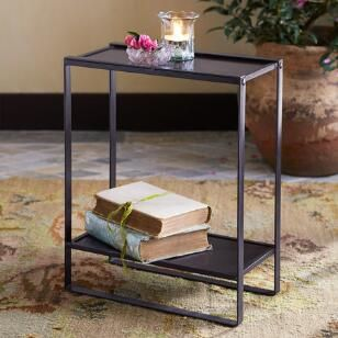 Black Mountain Side Table Black Side Table Cabin Furniture