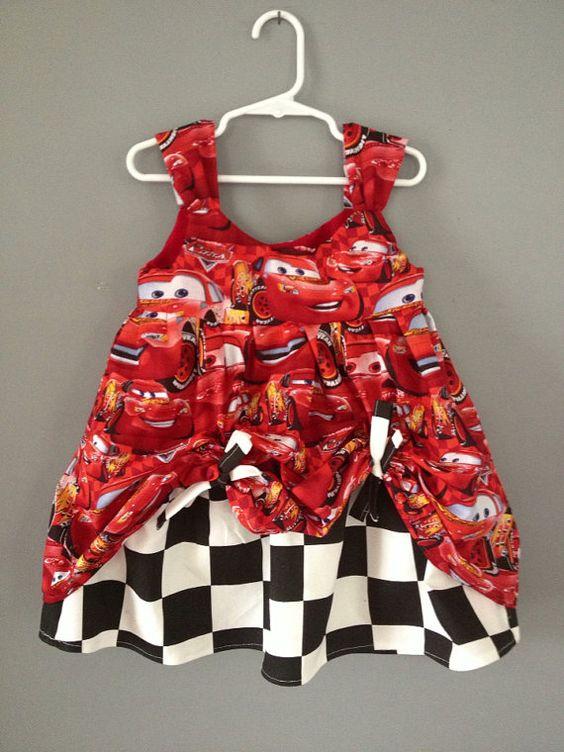 Lightning McQueen robe d'été