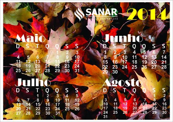 2º opção de calendário