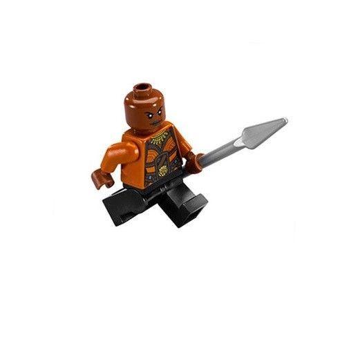 LEGO Okoye Minifigure from Black Panther set 76099 Marvel Super Heroes NEW