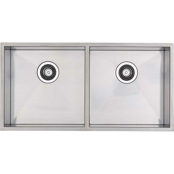 Blanco Double Bowl Inset or Undermount Sink QUAT400/400UK5