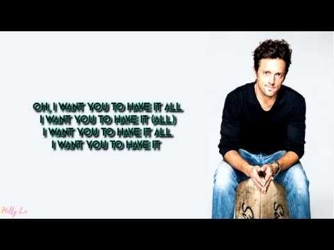 For Ryan Meghan And Sean Jason Mraz Have It All With Lyrics Youtube Jason Mraz Singing Quotes All Lyrics