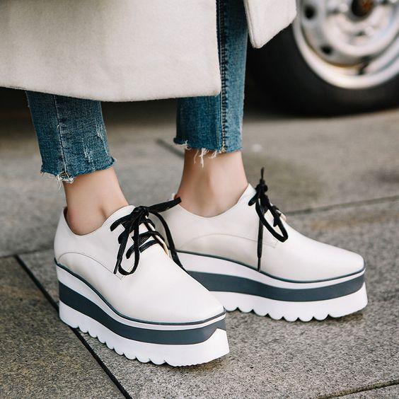 Modest Platform Shoes