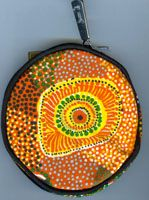 Aboriginal design Coin Purse Swamp Turtle $9.00 or 2 for $16.00 Code:  COIN-ST09