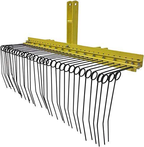 New Titan 5 Ft 3 Point Pine Straw Needle Rake Cat 1 3 Point Online In 2020 Backyard Furniture Bottle Wall Lawn Garden