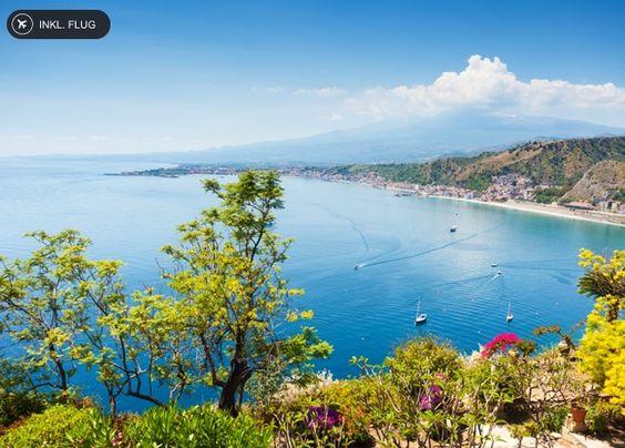Die Sonne Siziliens genießen