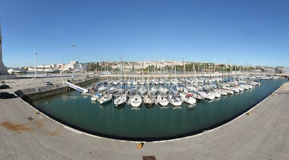 360º Virtual Visit to Doca de Belém, Portugal - via www.visitasvirtuais.com