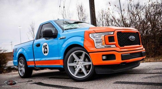 Este Ford F 150 De Edicion Limitada Con 725 Cv De Potencia Es Una Delicia Ford Ford Gt40 Automoviles