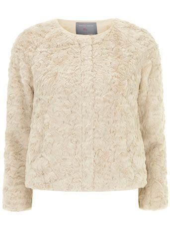 Petite short faux fur jacket - Petite Jackets - Petite | Stylin