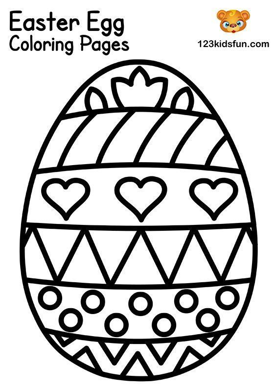 Free Easter Coloring Pages For Kids 123 Kids Fun Apps In 2020 Free Easter Coloring Pages Easter Coloring Pages Easter Egg Coloring Pages