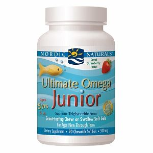 Buy Nordic Naturals Ultimate Omega Junior, Chewable Soft Gels, Strawberry with free shipping on orders over $35, low prices & product reviews | drugstore.com
