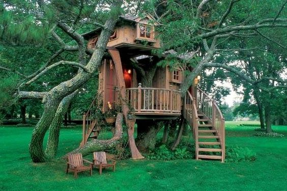 Treemansion (this one by Pete Nelson)