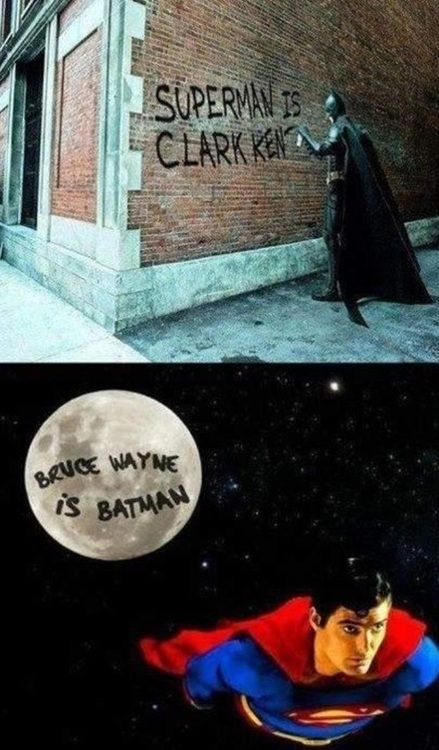 Superman's revenge on Batman xD