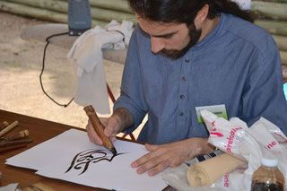 rencontre de calligraphie contemporaine - calligraphie contemporaine