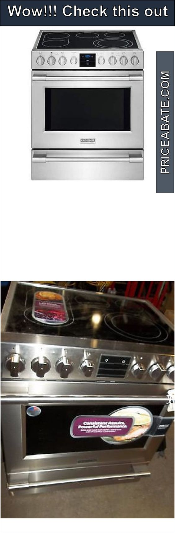Professional Electric Ranges For The Home Appliances Frigidaire Professional Series Stainless Steel Slide