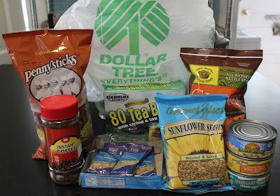 Dollar Tree Frugal Healthy Goodies!