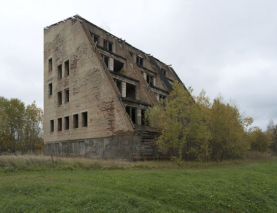 A subjective atlas of modern architecture: The abandoned lonely housing estate, Latvia, 2014....