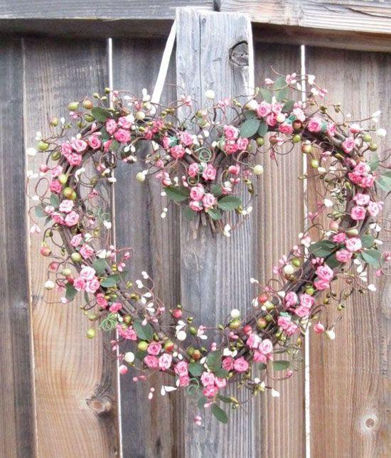 Decoração de casamento: rosa e rústico:
