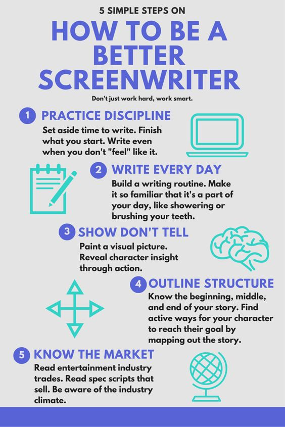 Screenwriting Tips - Practical Advice For Writing Screenplays & Television Scripts