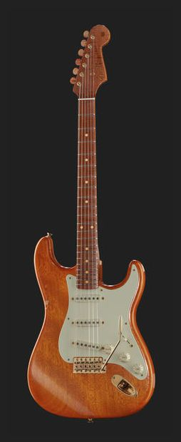 Fender Flamed Mahogany Strat Stratocaster CC MBDW Electric Guitar Custom Shop
