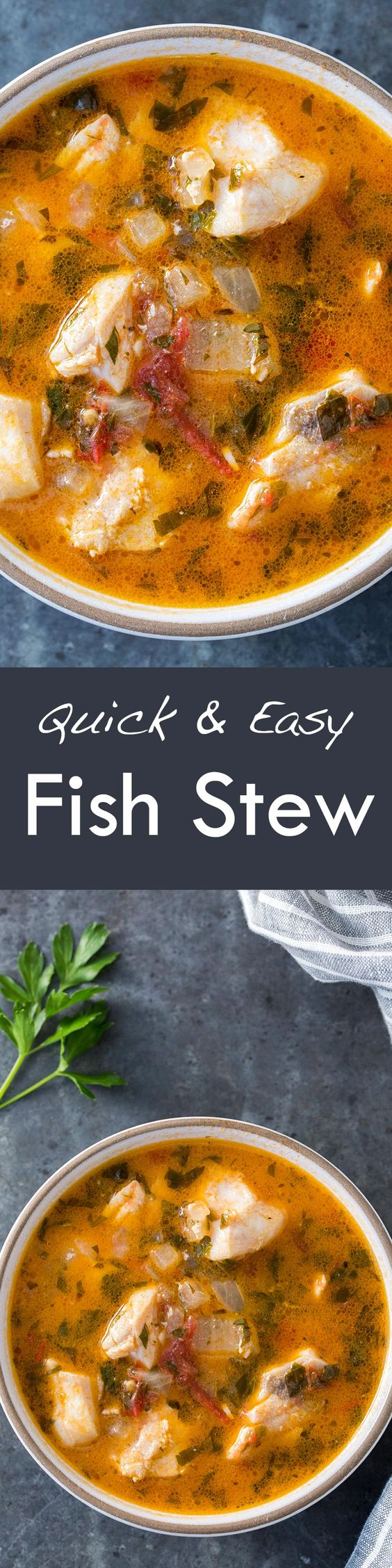 Fish stew stew and fish on pinterest for Fresh fish recipes